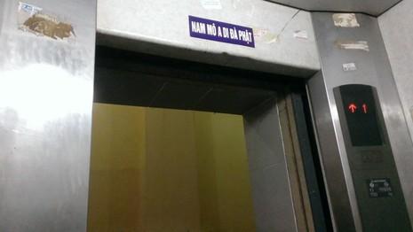 Hà Nội: Đi thang máy... phải bò - ảnh 8