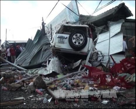 Tai nạn kinh hoàng trên QL14, bảy người thương vong - ảnh 1