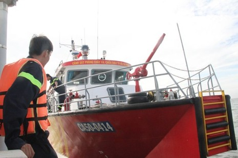 Chìm tàu Hoàng Phúc 18: Sóng lớn, công việc cứu hộ gặp khó khăn - ảnh 5