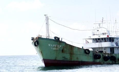 Phát hiện tàu nghi buôn lậu có trang bị vũ khí - ảnh 1