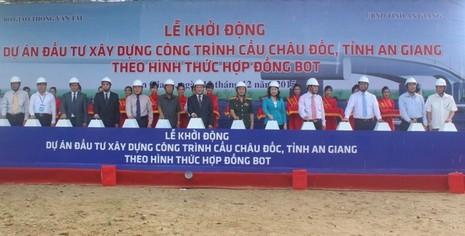 An Giang: Xây dựng cầu Châu Đốc thay thế phà Châu Giang - ảnh 2