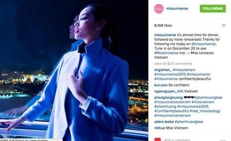 Gây sốt truyền thông, Phạm Hương được quản lý tài khoản instagram Hoa hậu Hoàn vũ - Ảnh 4.