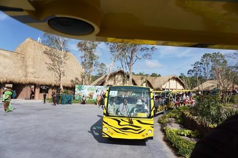 Khai trương vườn thú bán hoang dã lớn nhất châu Á  - ảnh 4