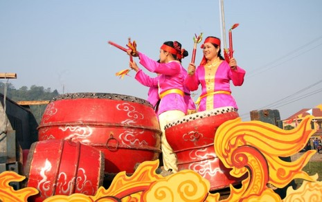 Khai hội 'Vua' xuống ruộng làm lễ Tịch điền - ảnh 4