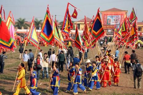 Khai hội 'Vua' xuống ruộng làm lễ Tịch điền - ảnh 6