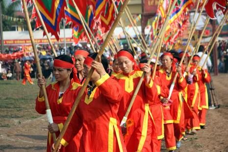 Khai hội 'Vua' xuống ruộng làm lễ Tịch điền - ảnh 5