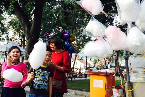 Chùm ảnh: Du xuân ở phố Sách Hà Nội - ảnh 2