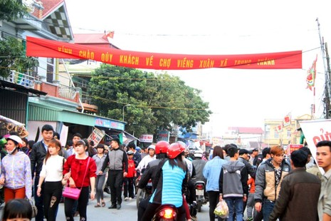 Chợ Viềng: Nghẹt thở đi chợ cầu may - ảnh 3