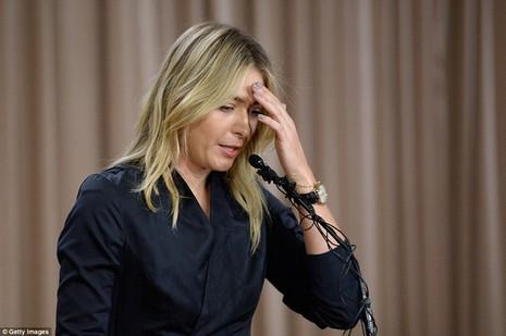 Sharapova có thể bị đình chỉ thi đấu đến bốn năm - ảnh 1