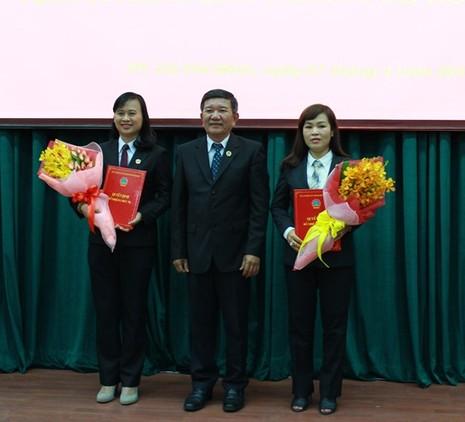 TP.HCM: Bổ nhiệm chức vụ mới cho hai nữ thẩm phán - ảnh 1