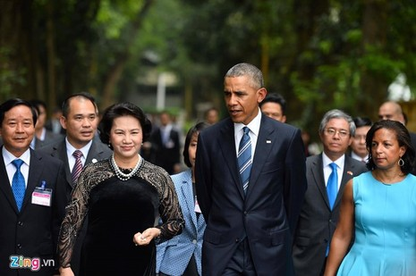 Tổng thống Obama công bố gỡ bỏ cấm vận vũ khí đối với Việt Nam  - ảnh 2