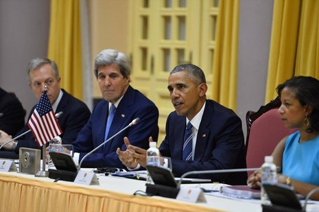 Tổng thống Obama công bố gỡ bỏ cấm vận vũ khí đối với Việt Nam  - ảnh 5