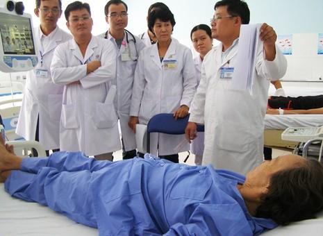Chẩn đoán từ xa bệnh nhân bị tim thiếu máu cục bộ - ảnh 1
