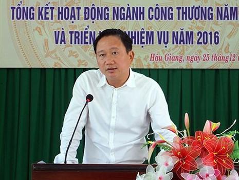 Ông Trịnh Xuân Thanh tự nguyện viết đơn xin không tái cử  - ảnh 1