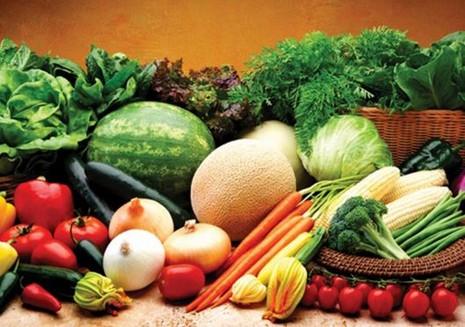 Giám sát thực phẩm với thịt, rau, củ, quả tại chợ
