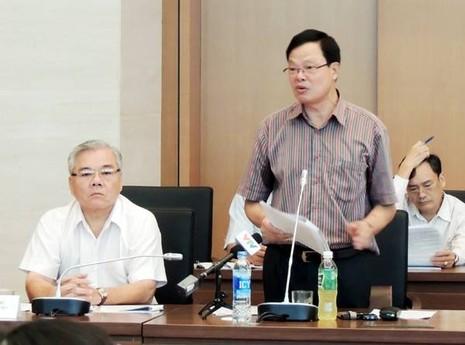 Ông Phạm Trọng Đạt Cục trưởng Cục chống tham nhũng