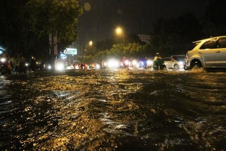 Chùm ảnh: Sân bay Tân Sơn Nhất bị biển nước vây quanh - ảnh 12