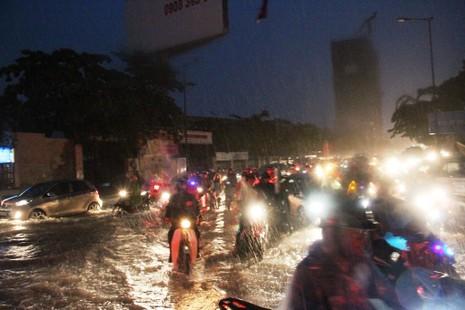 Chùm ảnh: Sân bay Tân Sơn Nhất bị biển nước vây quanh - ảnh 5