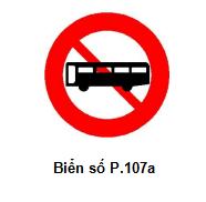 Cập nhật những biển cấm giao thông mới áp dụng từ 1-11 - ảnh 1