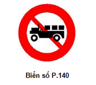 Cập nhật những biển cấm giao thông mới áp dụng từ 1-11 - ảnh 6