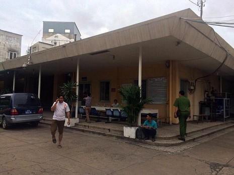 Địa điểm nơi CQĐT tiến hành làm các thủ tục bàn giao thi thể nạn nhân