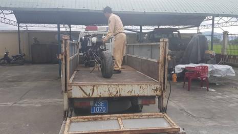 Đà Nẵng: Mô tô 'kỳ dị' gắn… khẩu đại liên 6 nòng - ảnh 3