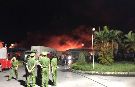 Cháy lớn tại cụm công nghiệp ở Hải Phòng không thiệt hại về người - ảnh 8