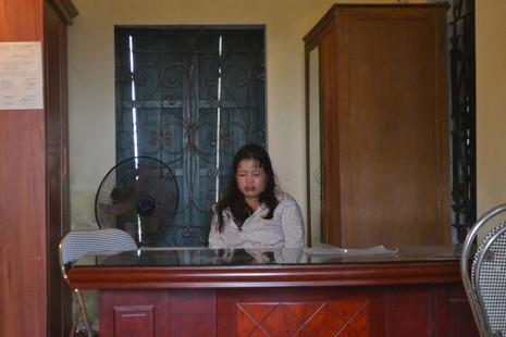 Nữ quái trộm chó tại trụ sở Ban Công an xã Văn Giang