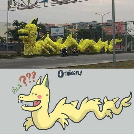 Gỡ hoa hình con rồng trên đường phố Hải Phòng - ảnh 2