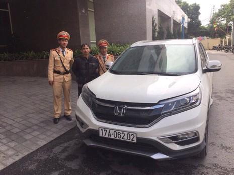 Bắt đối tượng trộm ô tô từ Thái Bình sang Quảng Ninh - ảnh 1