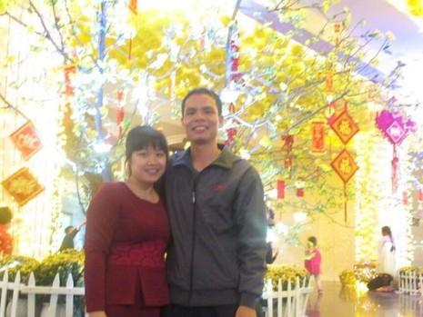Vợ chồng Trung úy Nguyễn Bá Thế