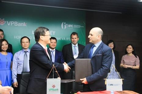 IFC cung cấp gói tài chính 125 triệu USD cho VPBank - ảnh 1