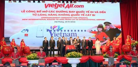 VietJet công bố hai đường bay Hải Phòng đi Hàn Quốc, Thái Lan - ảnh 1