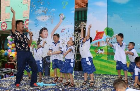 Phát động Sữa học đường năm học 2016-2017 - ảnh 2