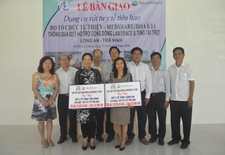 MedShare tặng vật tư y tế cho Trà Vinh, Long An - ảnh 1