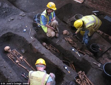 Phát hiện và giải mã 1300 bộ xương người tại đại học Cambridge - ảnh 2