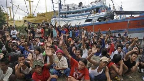 Giải cứu hàng trăm ngư dân bị bắt làm nô lệ trên quần đảo Indonesia - ảnh 1