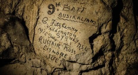 Phát hiện bức tường khắc tên 2.000 binh lính trong thế chiến I - ảnh 1