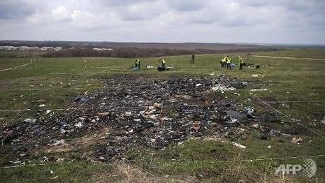 Tiếp cận khu vực 'nguội xung đột', tìm thấy thêm thi thể nạn nhân MH17 - ảnh 1