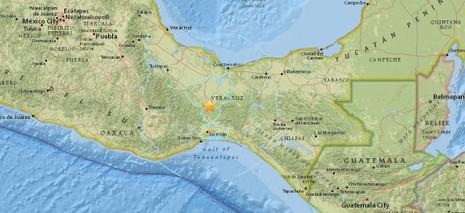 Thêm một trận động đất 5.5 độ Richter rung chuyển Mexico - ảnh 1