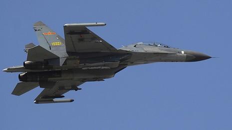 Chiến đấu cơ hạng nặng J-11D của Trung Quốc lần đầu cất cánh - ảnh 1