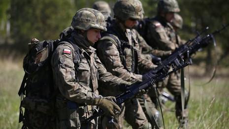 Lữ đoàn quân sự Lihuanian-Ba Lan-Ukraine ra đời - ảnh 1