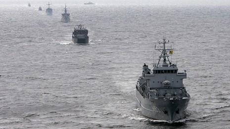 Mỹ và NATO tập trận 'khủng' tại Baltic - ảnh 1