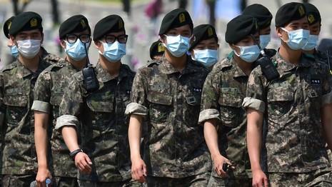 Chùm ảnh cúm Trung Đông 'tấn công' Hàn Quốc - ảnh 8