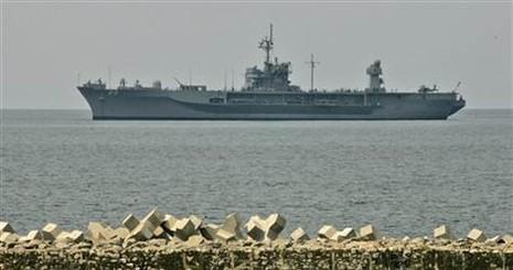 Mỹ di chuyển tàu chiến tới hỗ trợ 'bên thua trận' của Nga - ảnh 1