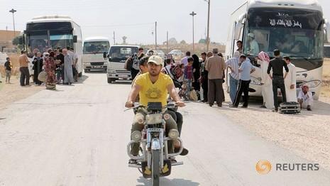 IS dùng khí độc lạ tấn công quân dân Kurd - ảnh 1