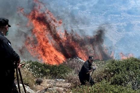 Cháy kinh hoàng ở Hy Lạp, du khách hoảng loạn - ảnh 4