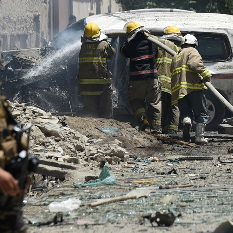Đánh bom liều chết tại Afghanistan, 15 người chết - ảnh 3