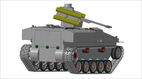 Nga công bố robot chiến trường đa năng 7 tấn  - ảnh 1