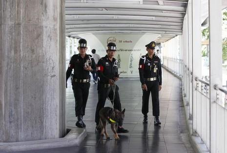 Ít nhất 10 người tham gia vụ đánh bom Bangkok - ảnh 1